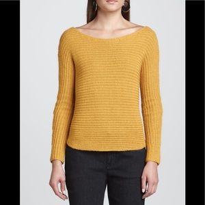 Eileen Fisher Alpaca/silk Ribbed Knit Sweater